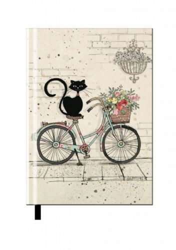 Bug Art Collection Bike Cat A5 Notebook Pad